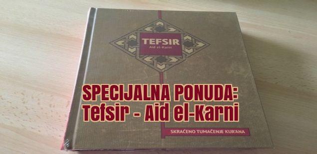 SPECIJALNA PONUDA: Tefsir – Aid el-Karni