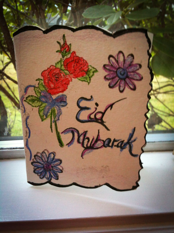 Eid Mubarak Cards Making At Home 4